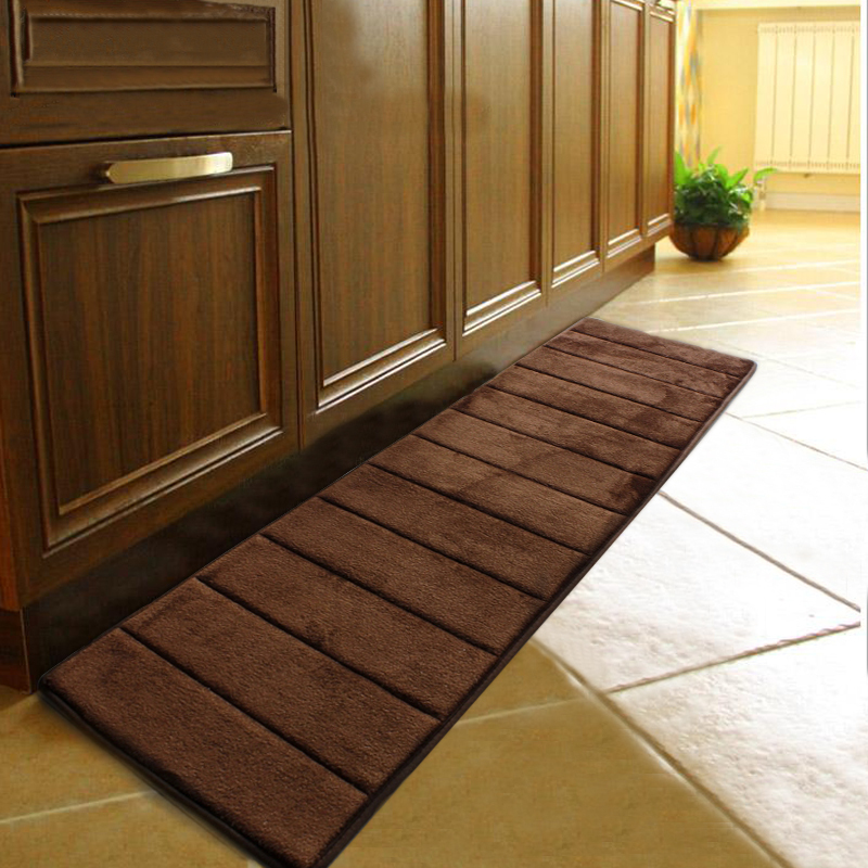 Memory Foam Kitchen Rugs: 50*120CM (19.68*47.24 In) Kitchen Rugs And Carpets Memory