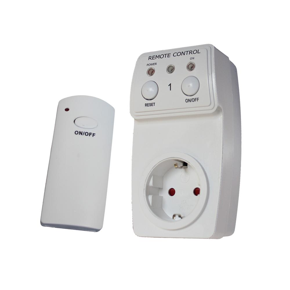 wireless remote control ac power outlet eu plug. Black Bedroom Furniture Sets. Home Design Ideas
