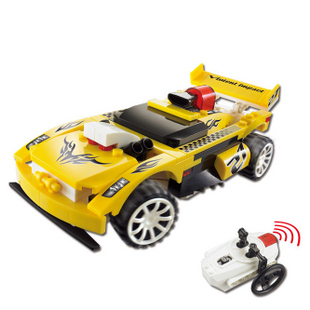 lxy10b remote control car building blocks infrared remote control automobile racer free shipping. Black Bedroom Furniture Sets. Home Design Ideas