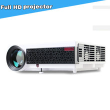 5000Lumens HD Home Cinema Theater Multimedia LED LCD Projector 1080P PC AV TV VGA USB HDMI 200inch Screen Proyector Proyectores