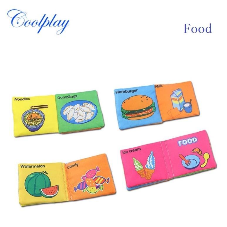 Развивающая ткань для детского интеллекта, развивающая книга, развивающая игрушка, подарок для детского дня рождения(Китай)