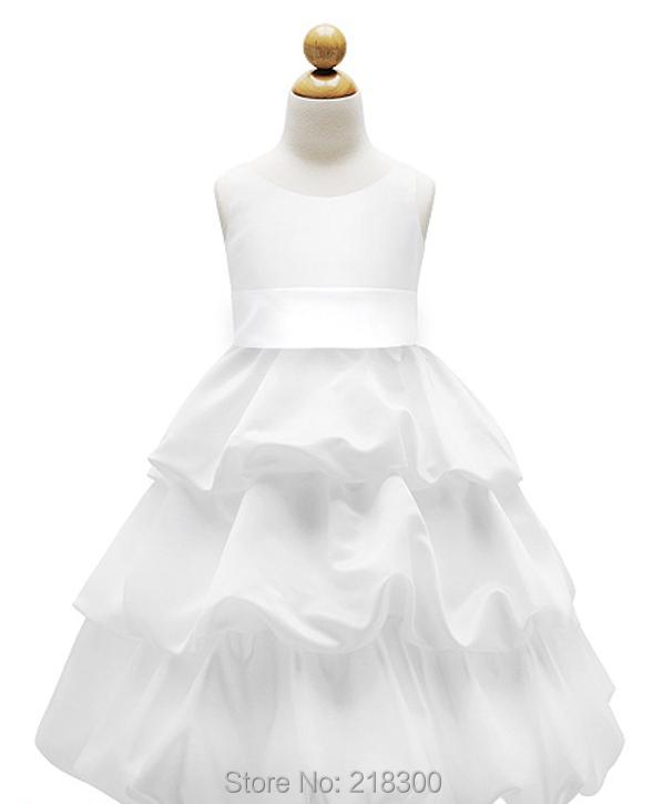 Pick Ups Tiered Catholic First Communion Dresses Tea