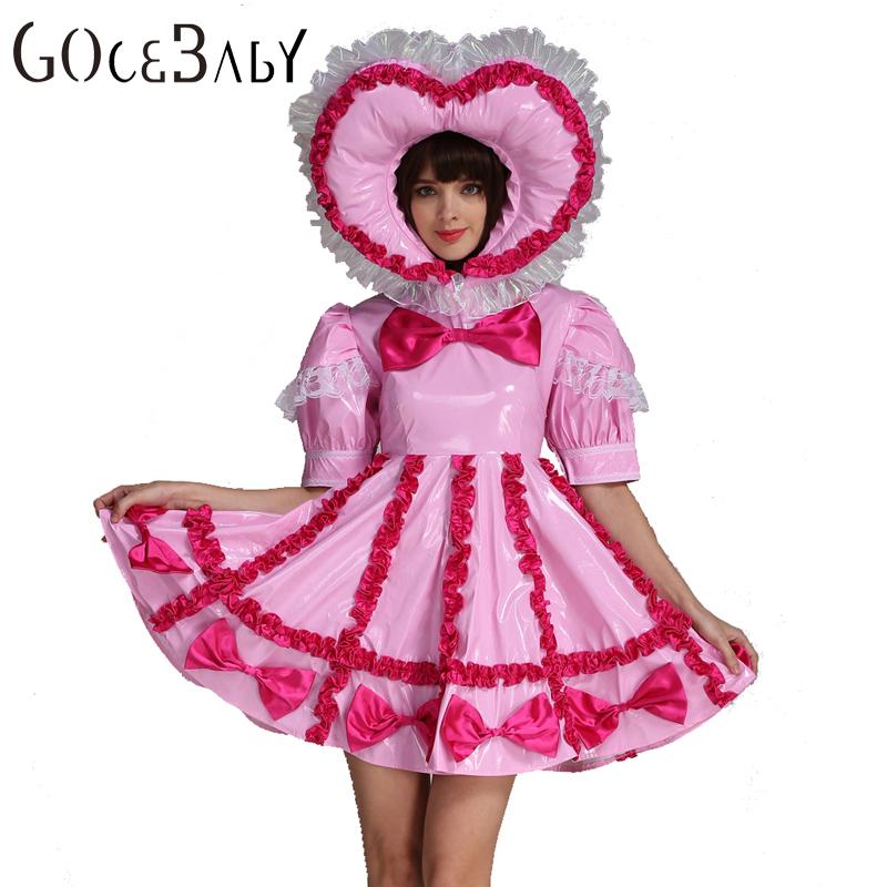 Adult Dress Pink Sissy 13
