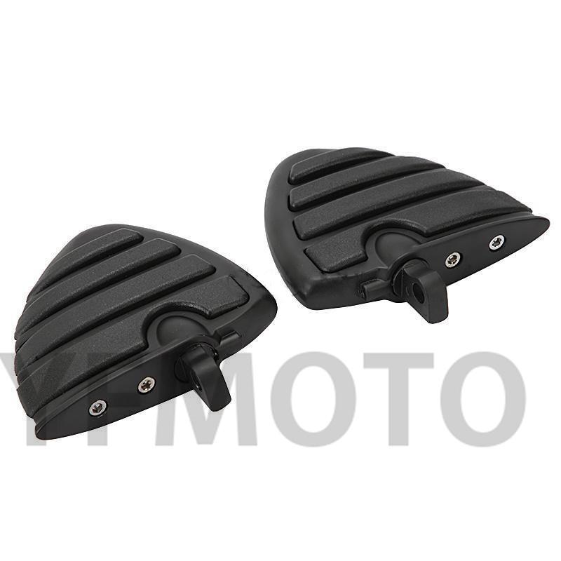2X черный мотоцикл мыжской установка - стиль ног Peg поддержка Harley электра скольжения ультра-классическая FLHTCU / ограниченное FLHTK