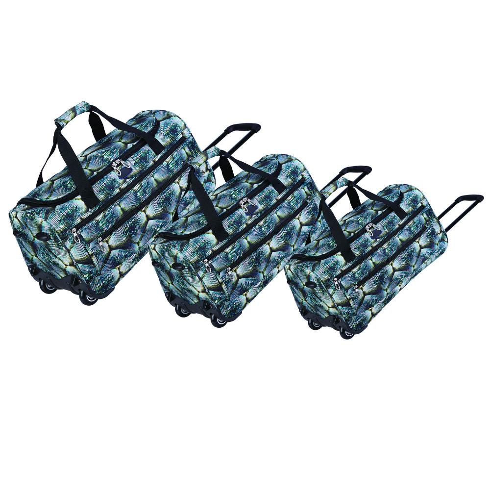 Travel Sport Gym Competition Gear Duffel Bag Rolling