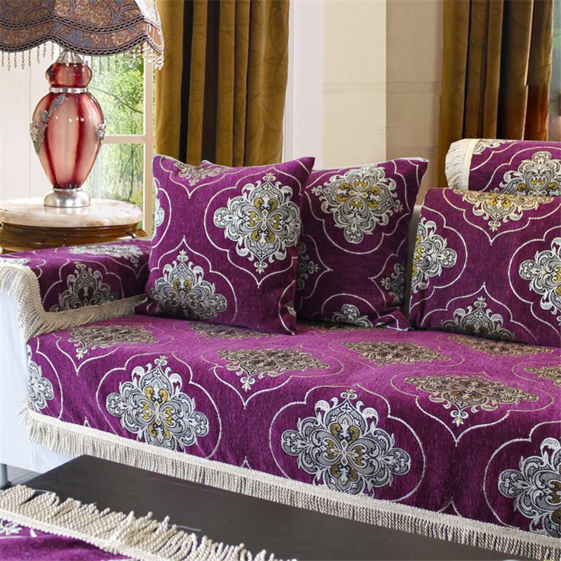 Chenille Skirted Sofa: Online Shopping Fabric Corner