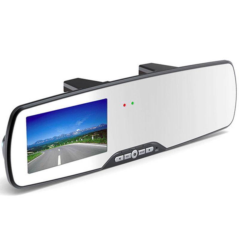 2 Дюймов Full HD 1080 P автомобильное зеркало заднего вида камеры автомобиля парковка ночного видения автомобильный видеорегистратор видеорегистратор