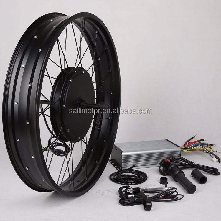 72v 84v Electric Bike Kit 3000 5000 Watt Hub Motor For