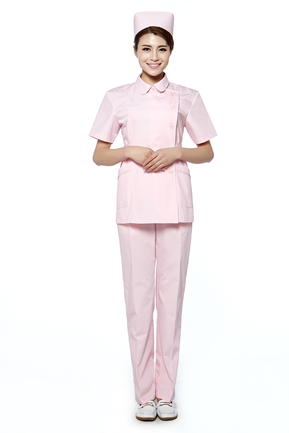 From medical and nurse tunics to scrubs and medical dresses, our infection-control compliant nursing uniform range is designed to meet the key specifications required by nurses and carers for working in a healthcare environment, such as durability, flexibility and safety.