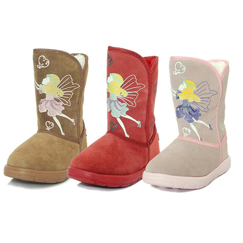 2015 Children Winter Boots Winter Kids Boots Baby Rubber