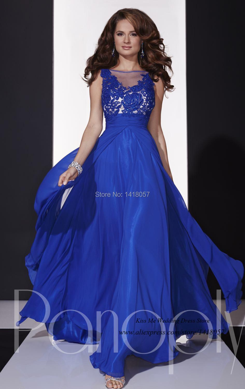 great blog robe robe de soiree bleu roi dentelle. Black Bedroom Furniture Sets. Home Design Ideas