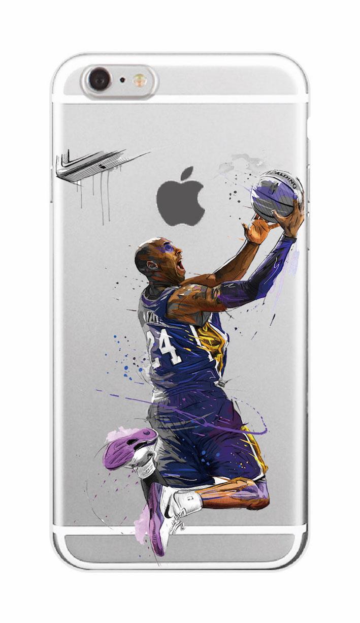 Sports Nba Stars Kobe Bryant Soft Tpu Phone Case Fundas