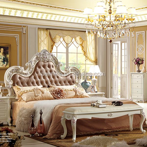 moderne de lits de luxe royal style chambre ensemble lots de literie id de produit 60160755514. Black Bedroom Furniture Sets. Home Design Ideas
