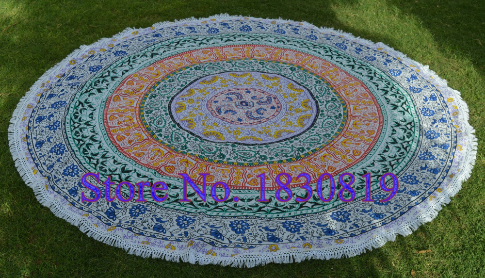 Indian Tapestry Mandala Wall Hanging Hippie Bed sheet Dorm Tapestry (100% Premium Quality) Perfect gift For Home/Office Decor.