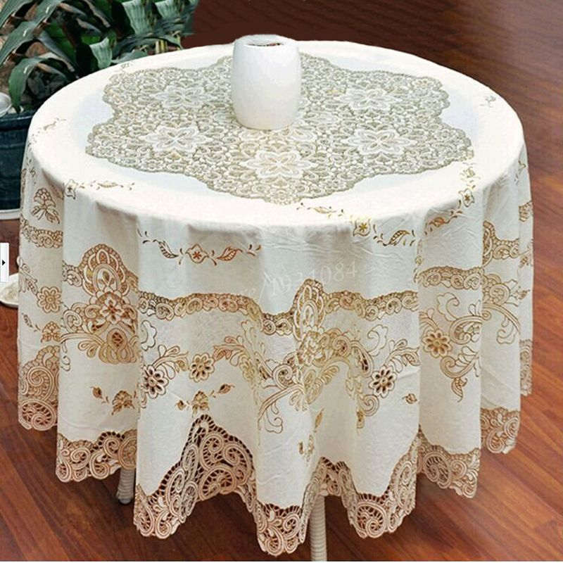 Online Get Cheap Lace Tablecloth Overlays Aliexpress Com