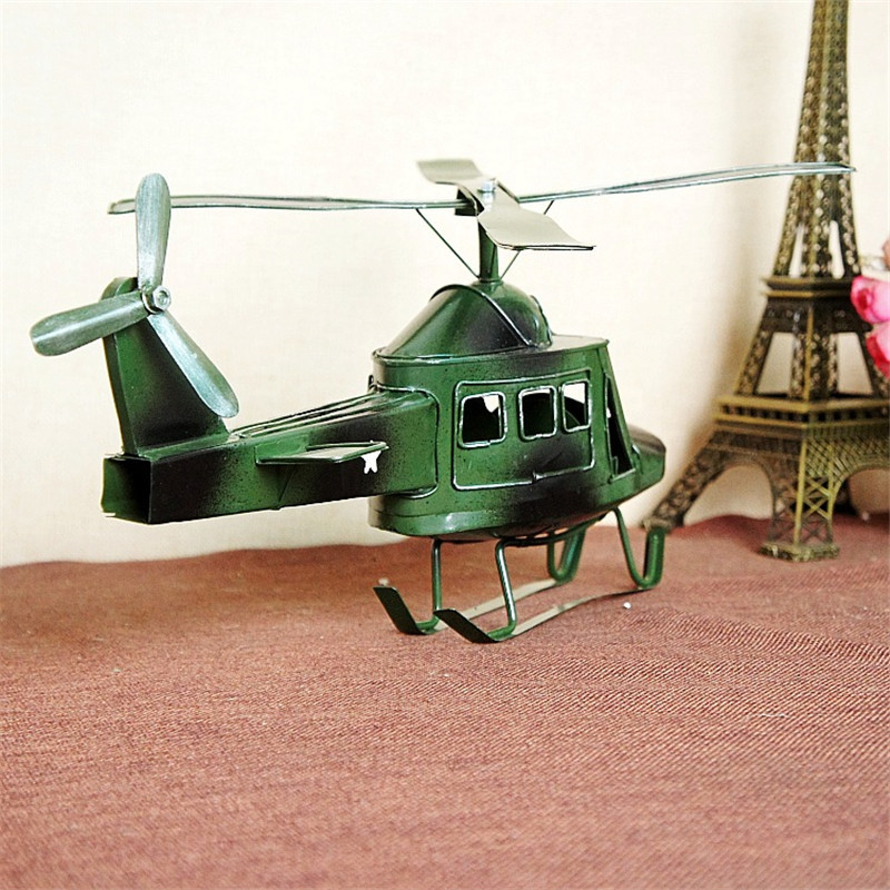 The new iron, tin military armed helicopter model manual Hobby Model F66