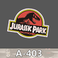 A 403 Jurassic Park Waterproof Fashion Cool DIY Stickers For Laptop Luggage Fridge Skateboard Car Graffiti