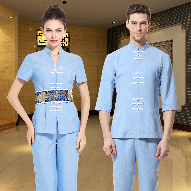 Online get cheap spa uniforms cotton for Spa uniform china