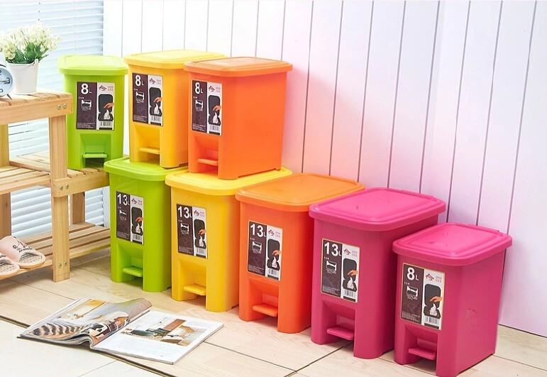 step trash recycle bin for sales. Black Bedroom Furniture Sets. Home Design Ideas