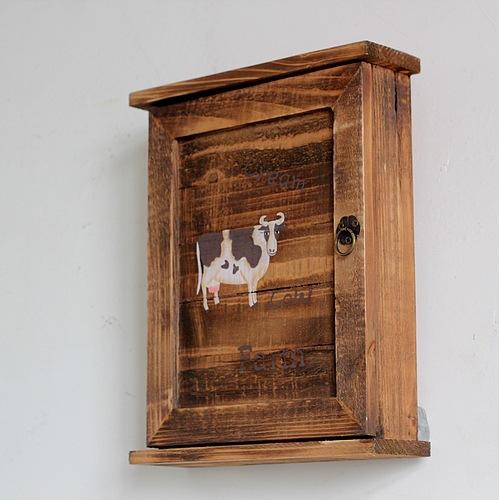 Cow Pattern Kitchen Cabinet
