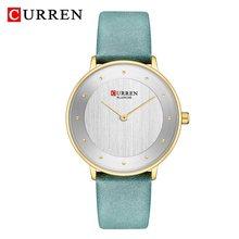 Часы CURREN женские, кварцевые, водонепроницаемые, розовое золото(Китай)