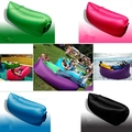 Ultralight Air Mattresses Lazy Inflatable Sleeping Bag Air Bed Beach Water Sofa 6 Color Free Shipping