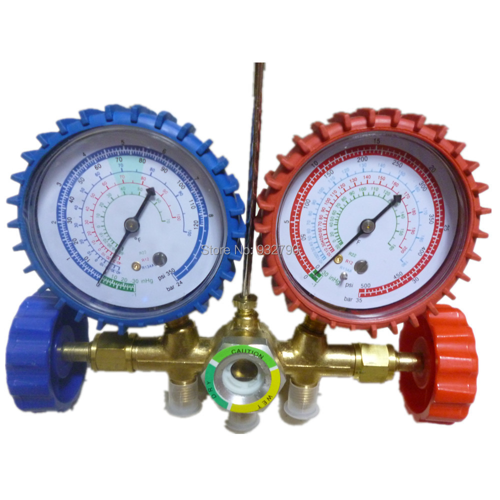 How to use manifold gauges refrigeration
