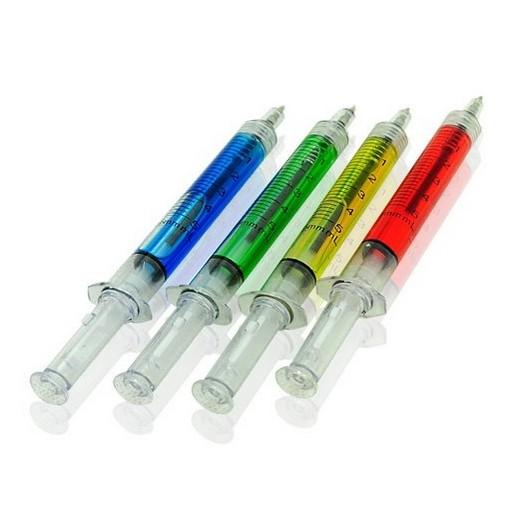 12-x-Ballpoint-Pen-Syringe-Style-Liquid-