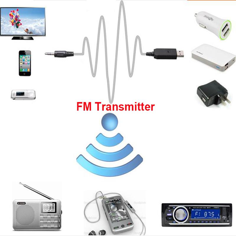 Новый вероятные fm-передатчики беспроводной mp3-плеер fm-модулятор черный для авто аудио телевидение компьютерных DVD iPhone мобильный