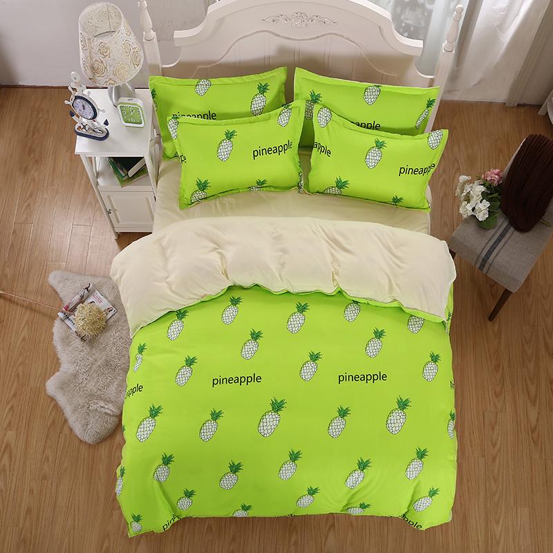 ananas lit feuilles promotion achetez des ananas lit. Black Bedroom Furniture Sets. Home Design Ideas