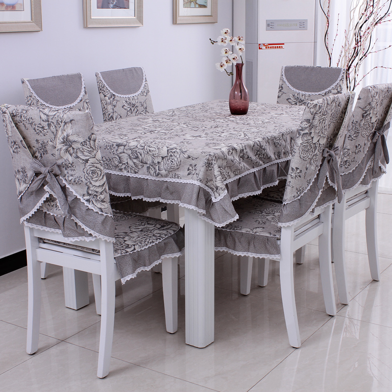 Dining Room Chair Cushion Covers: Dining Table Cloth Cushion Chair Covers Chair Pad Cushion