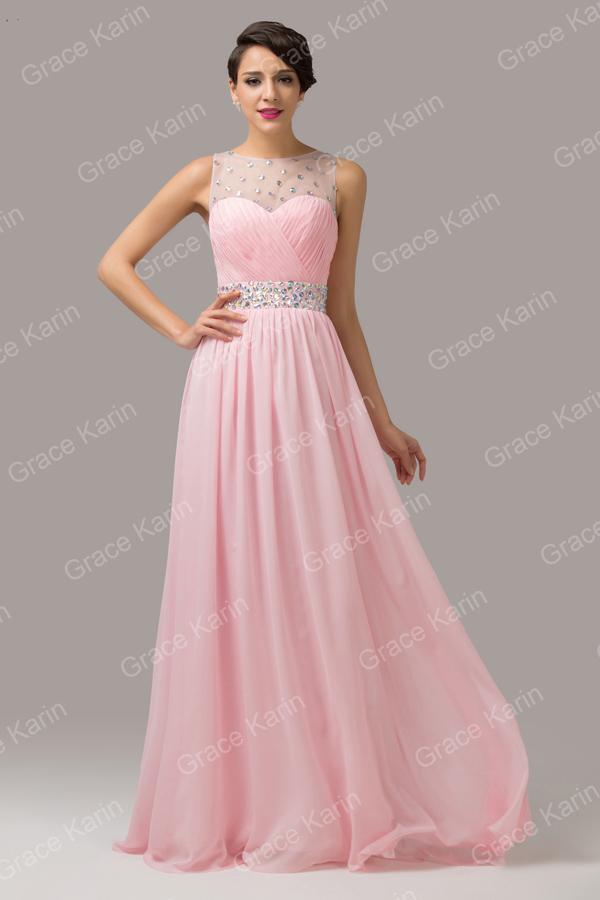 2d25d4eb6df robe de soirée rose en mousseline - Ma Jolie Robe de soirée