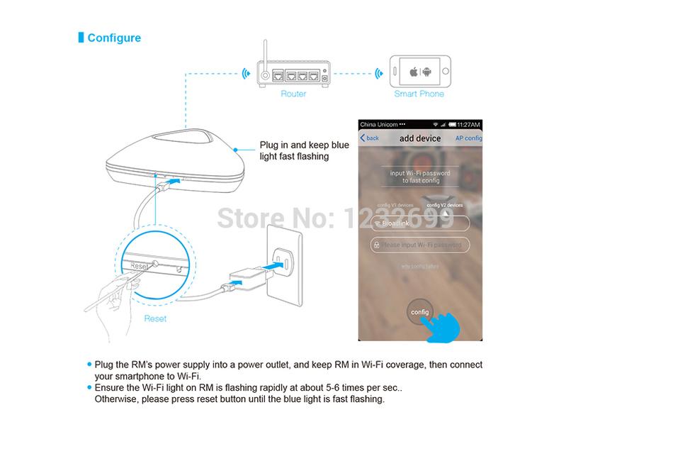 Der GüNstigste Preis Broadlink Rm2 Rm Pro Kontrollieren Motoren Mit Android Und Ios Handy Und Pad Als Einfache Samrt Hause Freies Verschiffen