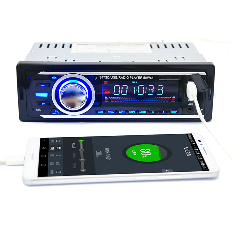 autoradio usb car stereo fm radio mp3 audio player support. Black Bedroom Furniture Sets. Home Design Ideas