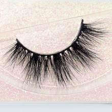 Норковые ресницы Visofree, 3D ресницы из 100% норки, мягкие и гибкие Накладные ресницы ручной работы, макияж E9(Китай)