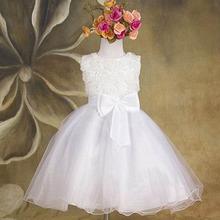 2016 Summer New Arrival Flower Princess Girl Dress Lace Rose Party Wedding Birthday Girls Dresses Candy Princess Tutu Elegant