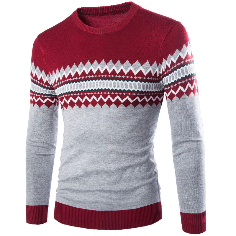 Großhandel MarKyi 2016 Herbst Patched Pullover Herren Marke Pullover ... 70dcbb92f0