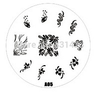 2015 new A Series A05 Nail Art Polish DIY Stamping Plates Image Templates Nail Stamp Stencil
