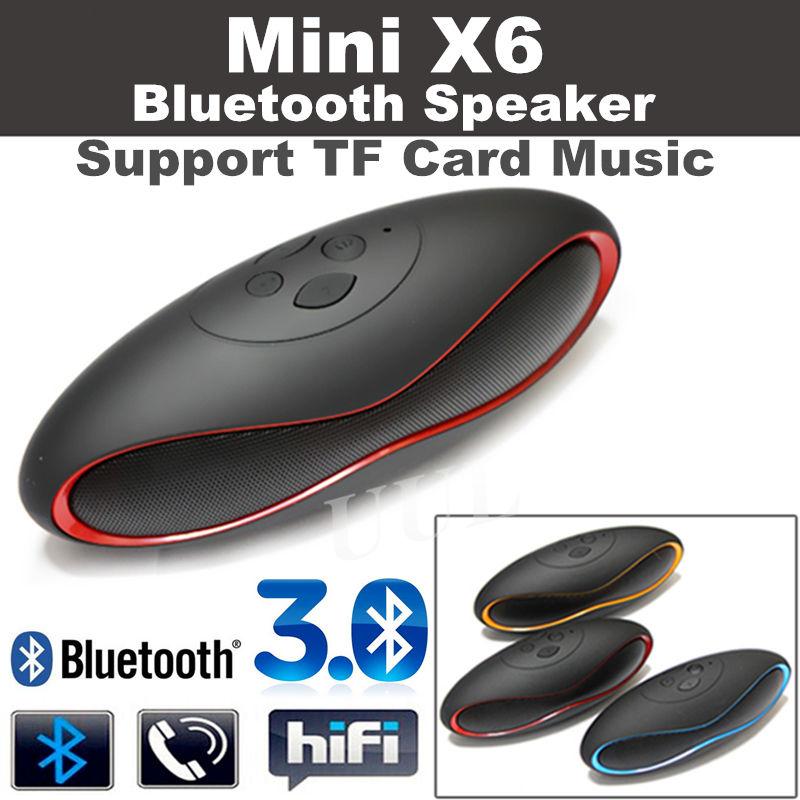 Free Shipping X6 MINI Football Wireless Bluetooth Speaker Portable Audio Player Music Speaker 2015 New altavoz Bluetooth