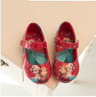 Комикс frozenly дети в эльза анна AnnaPu принцесса сандалии обувь