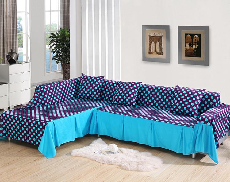 Anti Slip Cloth Art Sofa Cover Full Cover Rustic Sofa Sets