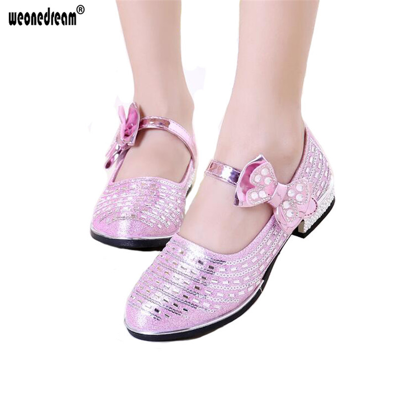Kids Flower Girl Shoes
