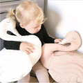 Cute Plush Doll Toy Stuffed Animal Swan Soft Lumbar Pillow Cushion Bolster Gift Soft Plush Toys