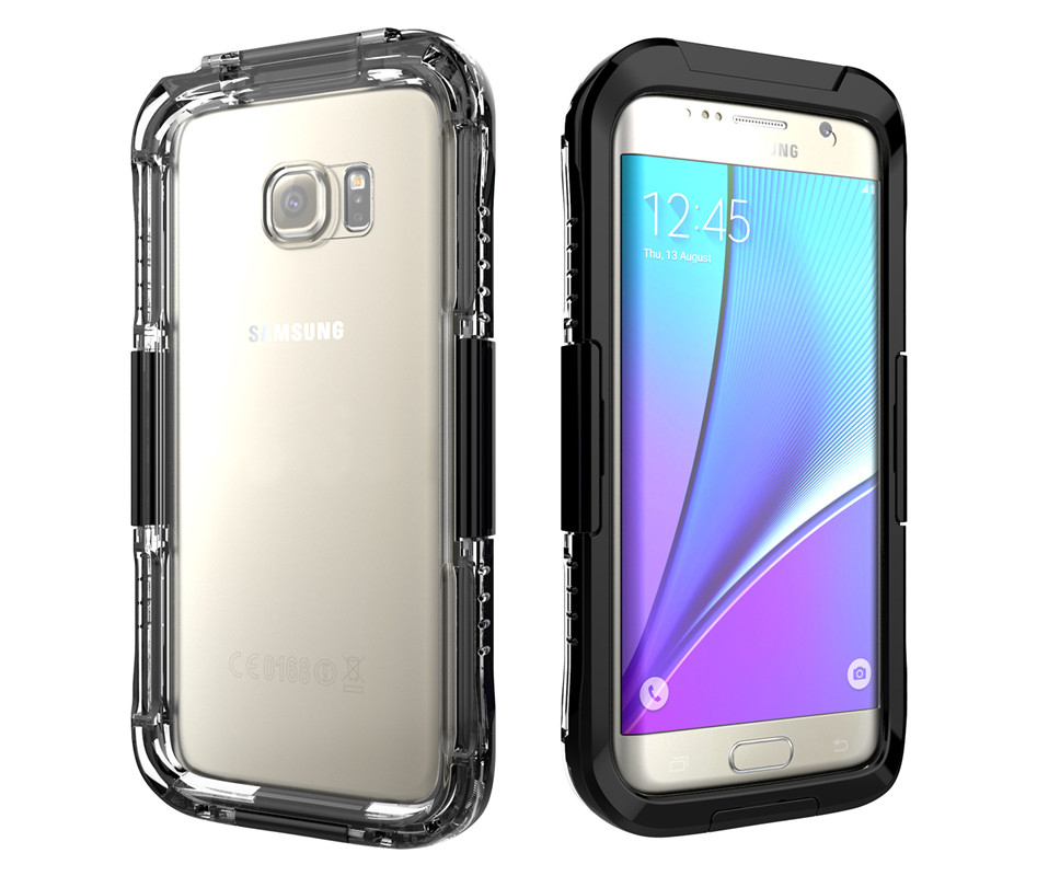 100 waterproof case shockproof gel touch shooting screen cover for samsung galaxy s7 g930 s7. Black Bedroom Furniture Sets. Home Design Ideas