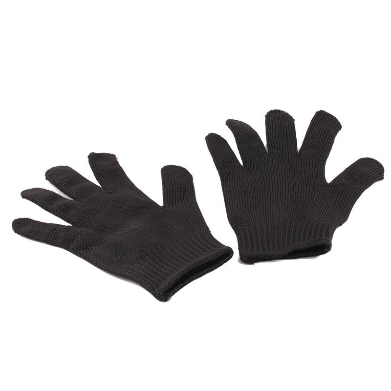 1 пара перчатки доказательство защита из нержавеющей стальной проволоки перчатки металлических сеток мясник анти-резки дышащий рабочие перчатки #D0052