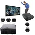 Multimedia Full HD 1920 x 1080 Home Theater Cinema H80 LCD Image System 80 Lumens MINI