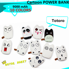 Mobile Power Bank 10400mah Cartoon portable charger external Battery 10400 mah mobile phone charger Backup powers for all phone
