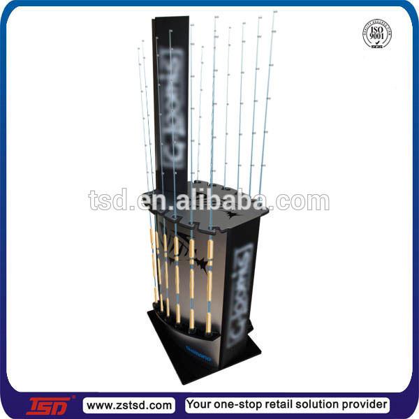 tsd w582 chine approvisionnement en bois pr sentoir de cannes p che tiges de p che tag re. Black Bedroom Furniture Sets. Home Design Ideas