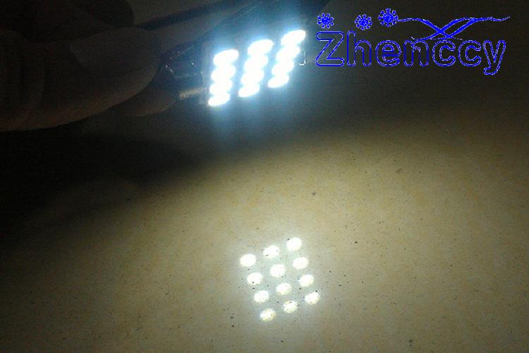 100 pcs/lot купол фары C5W гирлянда 12 SMD 5050 из светодиодов 31 мм 36 мм 39 мм 41 мм из светодиодов 12SMD автомобиль индивидуальное освещение DC12V