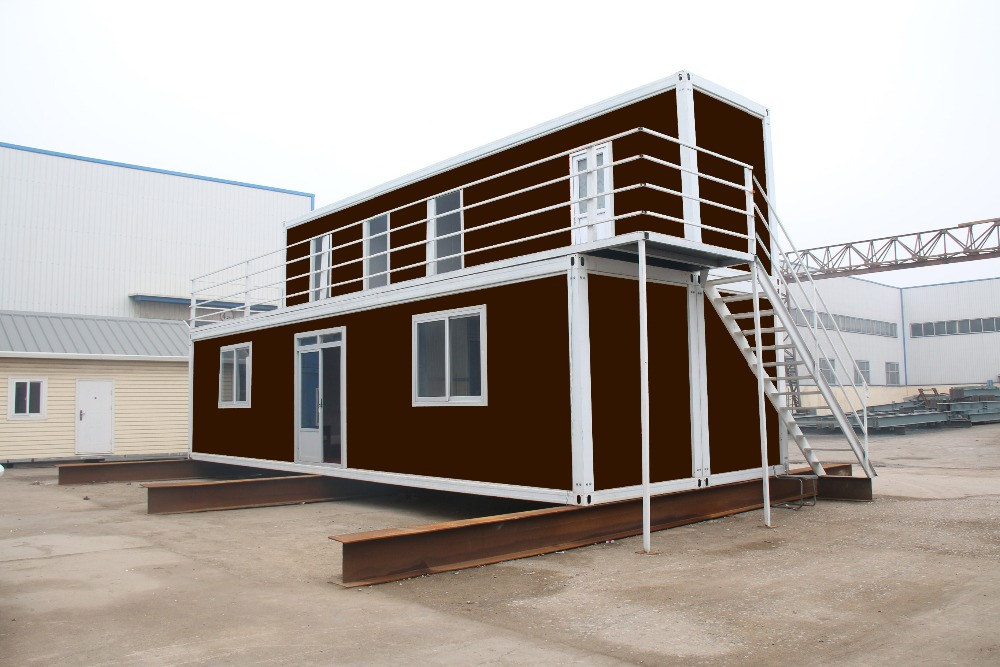 Single portable 40 ft shipping container homes for sale - 40ft shipping container home ...